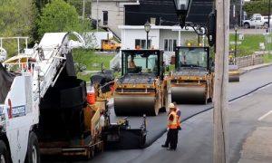 Paving Simcoe County asphalt paving