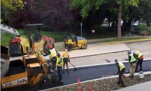 Paving Simcoe County asphalt paving road construction