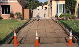 Paving Simcoe County concrete paving roundbars arrangement